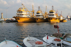 Commercial fishing Stock Images