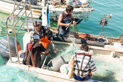 Commercial Fishing Royalty Free Stock Photography