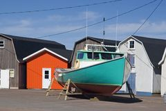 Commercial Fishing Boat Royalty Free Stock Photo