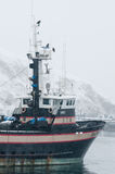 Commercial fishing boat Stock Photos