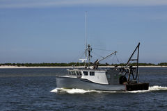 Commercial Fishing Boat. In New Jersey Stock Image