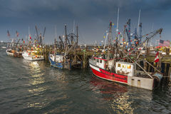 Commercial fishing boats Royalty Free Stock Photography