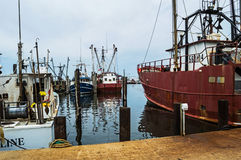 Commercial Fishing Boats Stock Image