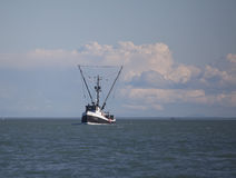 Commercial fishing trawler in Southeast Alaska Royalty Free Stock Photo