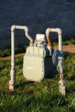 Commercial gas meter Stock Photos