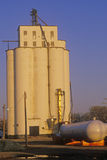 Commercial grain silo Royalty Free Stock Photos
