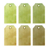 commercial grunge tags Stock Image