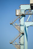 Commercial harbor Stock Images