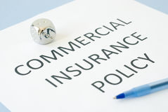 Commercial insurance Royalty Free Stock Photos