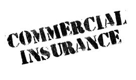 Commercial Insurance rubber stamp Royalty Free Stock Photography
