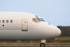 Commercial Jet Royalty Free Stock Photography