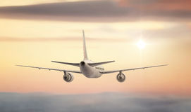 Commercial Jet Stock Image