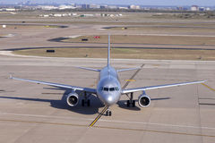 Commercial Jet Airliner Royalty Free Stock Photography