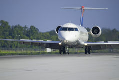 Commercial jet taking off Royalty Free Stock Photography