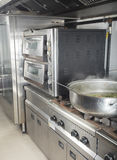 Commercial kitchen in a hotel or restaurant Stock Images