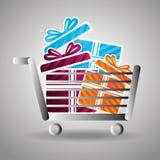 Commercial labels design Stock Images