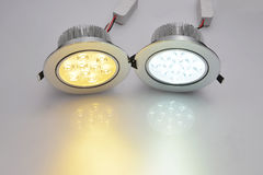 Commercial led lamp Stock Images