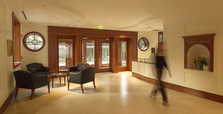 Commercial lobby royalty free stock images