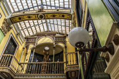 Commercial passage, Valladolid Royalty Free Stock Images