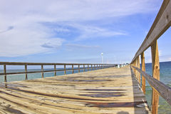 Commercial Pier in Fort Lauderdale, FL Stock Photo