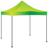 Commercial Pop-Up Tent. Tent for use in commercial activities. Vector illustration Royalty Free Stock Images