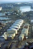 Commercial port. Barcelona. Stock Photos