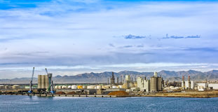 Commercial port of Castellon , Spain Royalty Free Stock Photography