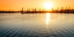 Varna port Royalty Free Stock Image