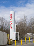 Commercial Propane storage tank Stock Photography
