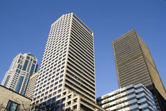 Commercial properties business buildings royalty free stock images