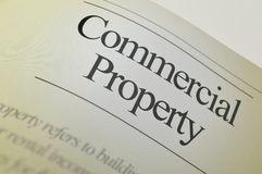 Commercial property - Headlines Stock Photography