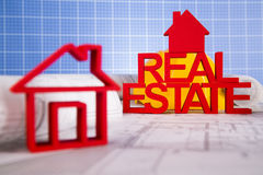 Commercial Real Estate and Architectural project Stock Photo