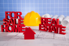 Commercial Real Estate and Architectural project Stock Image