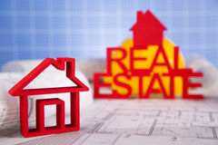 Commercial Real Estate and Architectural project Royalty Free Stock Photo