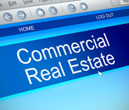 Commercial real estate concept. Stock Image