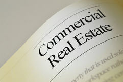 Commercial Real Estate - Headlines Royalty Free Stock Photos