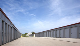 Commercial Rental Storage Units Stock Images