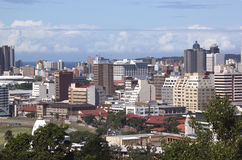 Commercial and Residential Buildings in Durban Stock Images