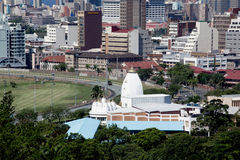 Commercial and Residential buildings in Durban Stock Photos