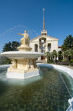 Commercial Sea Port of Sochi Royalty Free Stock Photography