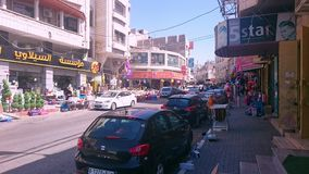 Commercial Shops in Nablus City Center Royalty Free Stock Image