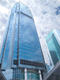 Commercial Skyscraper. This is Hong Kong famous building - international finance building Stock Photos