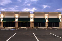 Commercial Space for Lease. Newly constructed commercial space available for lease stock photos