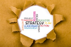 Commercial strategy concept Royalty Free Stock Images