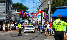 Commercial Street, Provincetown, MA. Stock Photography