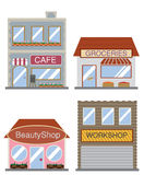 Commercial structure Royalty Free Stock Images