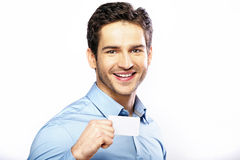 Commercial style picture of handsome guy Royalty Free Stock Images