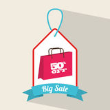 Commercial tag Royalty Free Stock Images