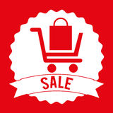 Commercial tag Royalty Free Stock Photography