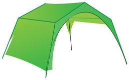 Commercial tent Royalty Free Stock Images